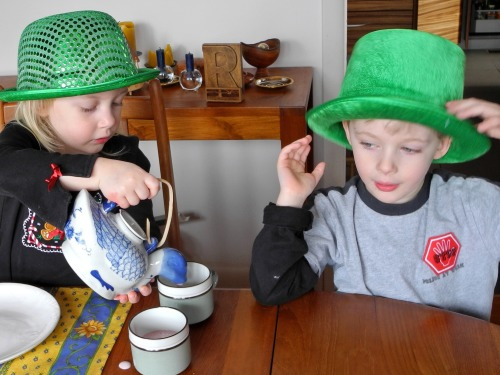 An Irish tea party