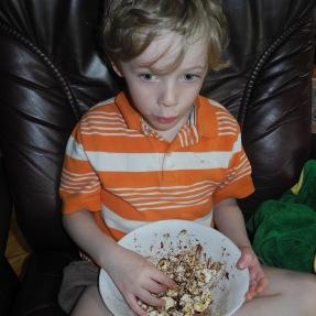 Bertie Bott's popcorn