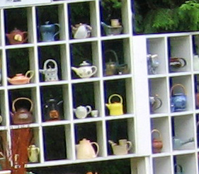 Teapots galore!