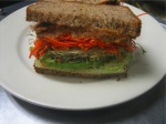 general greene vegetable hummussandwich