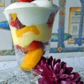 Lemon curd and Greek yogurt parfait