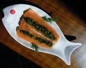 Salmon two ways gives us all the omega-3 fats our hearts could desire