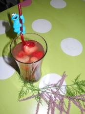 Pomegranate tea - kids like it too!