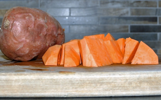 Don't call this little number a yam. It's a sweet potato.