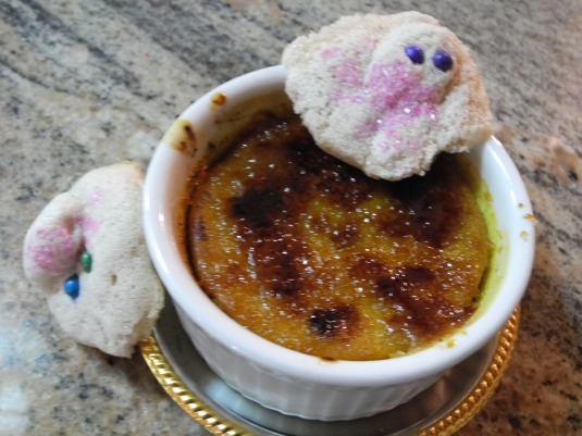 Ghost frogs and pumpkin brule