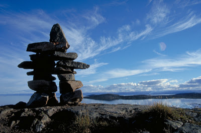 Inukshuk courtesy of Jasper's Gems