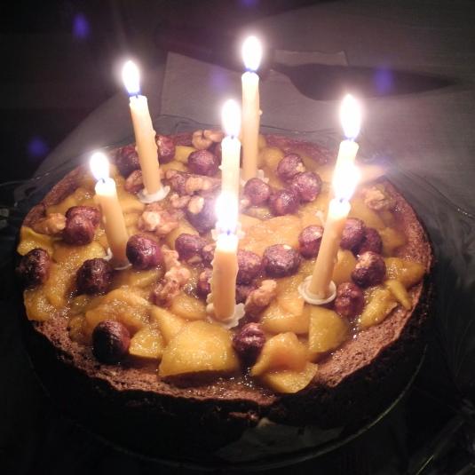 Gluten free nut cake