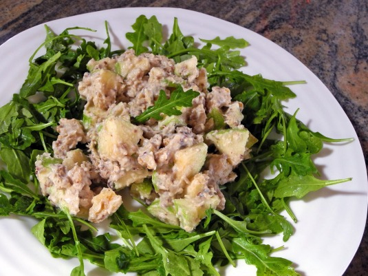 sardine and apple salad