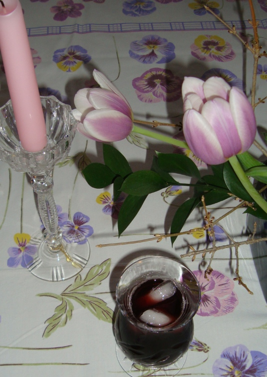 Spring gourmet - Portuguese sangria cup