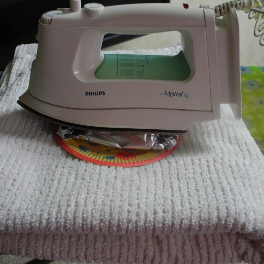 Ironing takes on a whole new meaning!