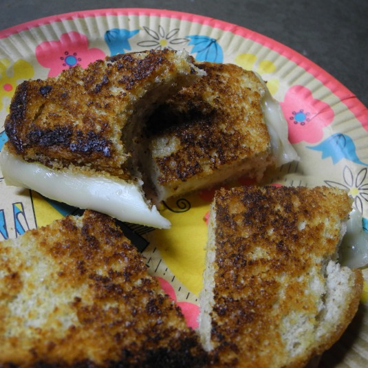 iron out the wrinkles on your next grilled cheese