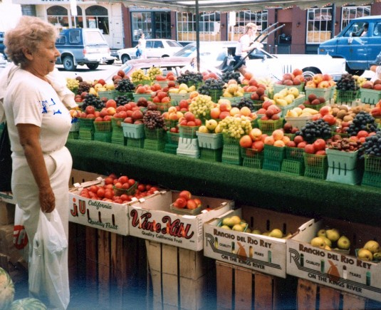 Buy your good health at the market