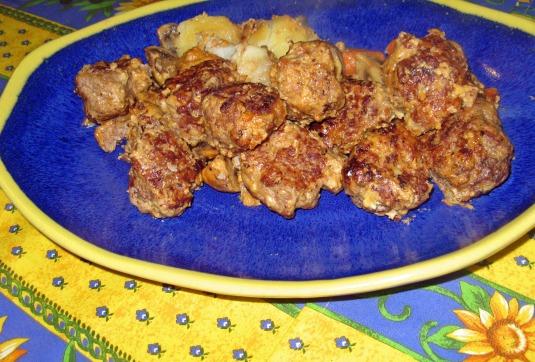 Adela's Norwegian meatballs