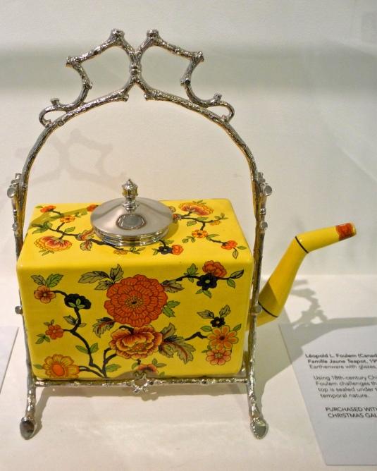 Gardiner Museum, tea pot