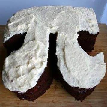 Pi day cake