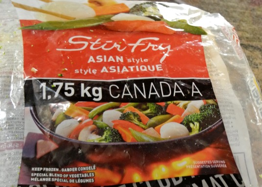 Asian stir fry frozen vegetables