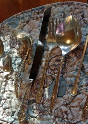 silver cleaning, silverware, aluminum