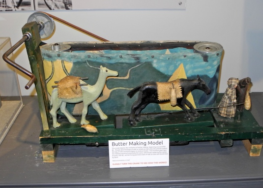 A butter-making model