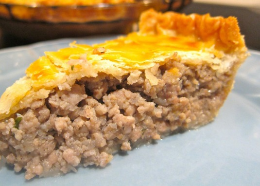 Tourtiere meat pie