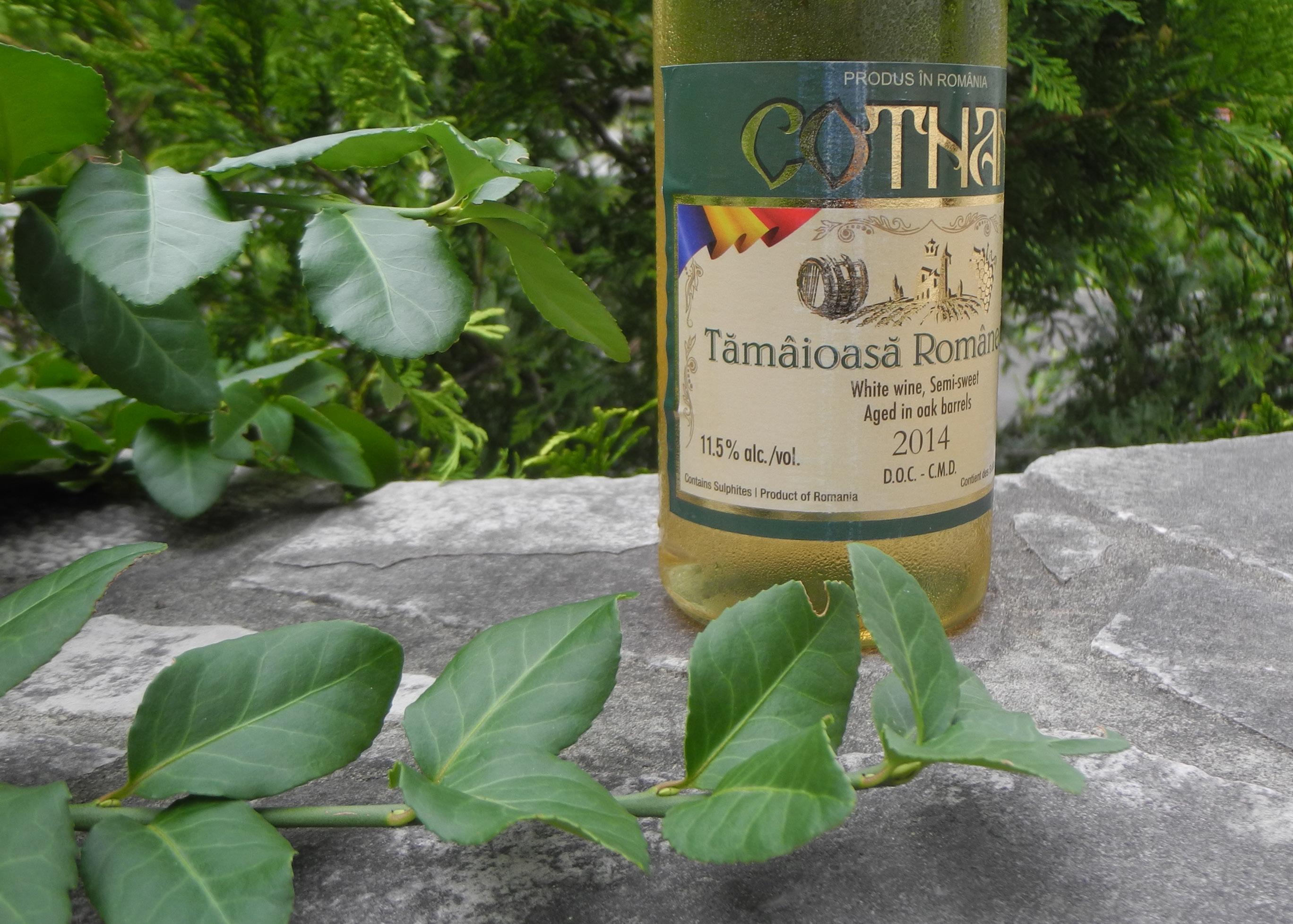 Roumanian wine - Tamaioasa Romaneasca Cotnari DOC